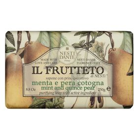 il-frutteto-menta-e-pera-cotogna-nesti-dante-sabonete-purificante-250g
