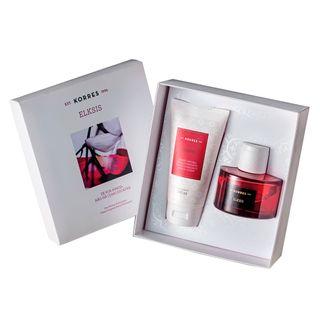 elksis-deo-parfum-korres-perfume-feminino-creme-corporal-kit