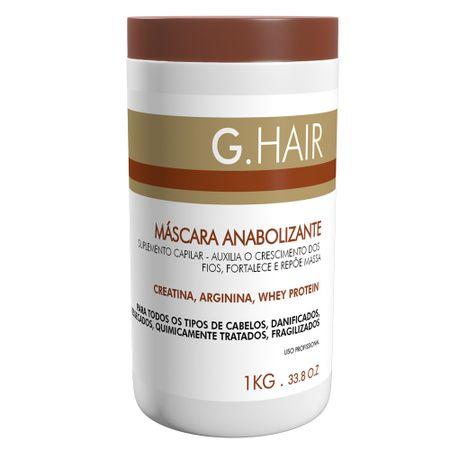 G.Hair Anabolizante - Máscara de Tratamento - 1kg
