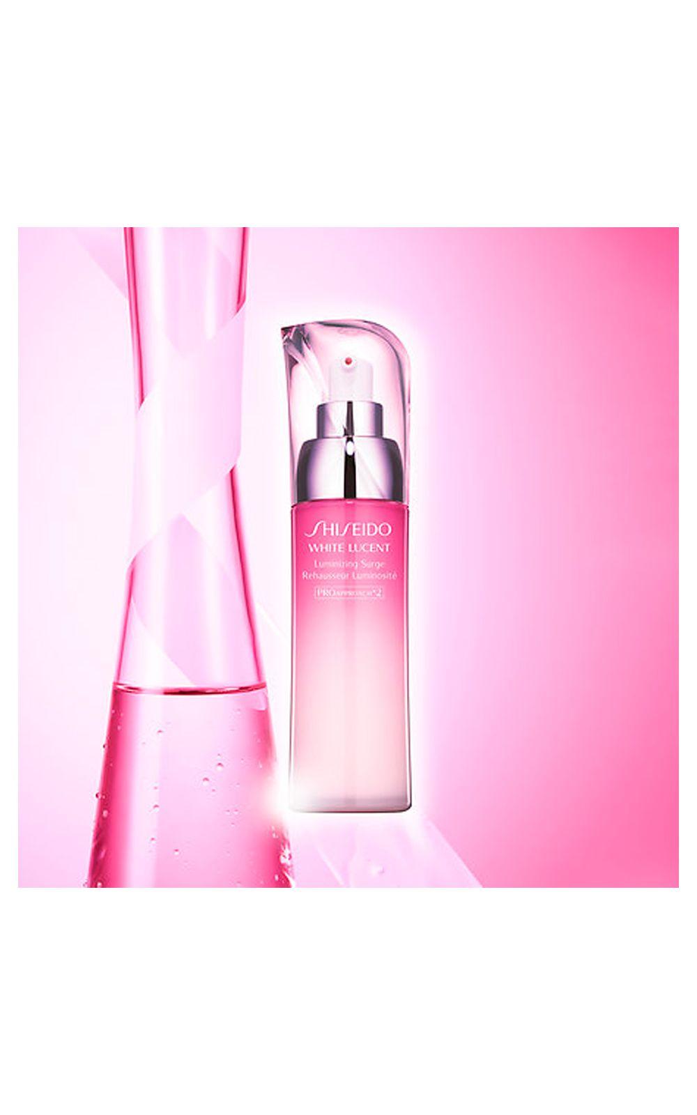 Foto 2 - Emulsão Suavizante Iluminadora Facial Shiseido - White Lucent Luminizing Surge - 75ml