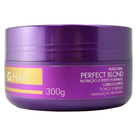 G.Hair Perfect Blond Máscara Matizadora - 300g
