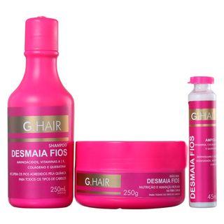 g-hair-desmaia-fios-kit-shampoo-mascara-ampola