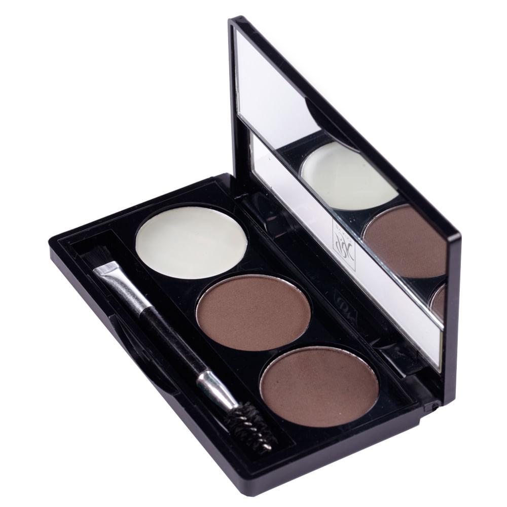 Kit para Sobrancelha RK by Kiss Nome - Black Dark Brown