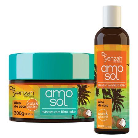 Yenzah Amo Sol Kit - Leave-In + Máscara Ultra hidratante - Kit