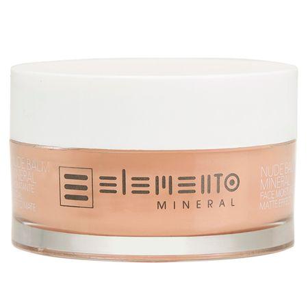 Hidratante Facial Efeito Mate Elemento Mineral Nude Balm - 50g