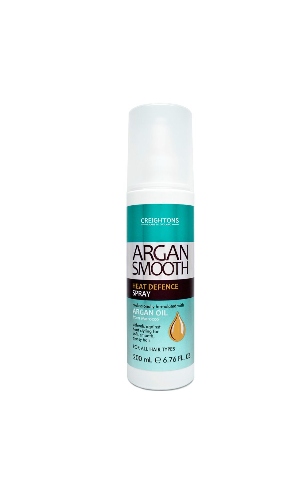 Foto 1 - Creightons Argan Smooth Heat Defence Spray - Protetor Térmico - 200ml