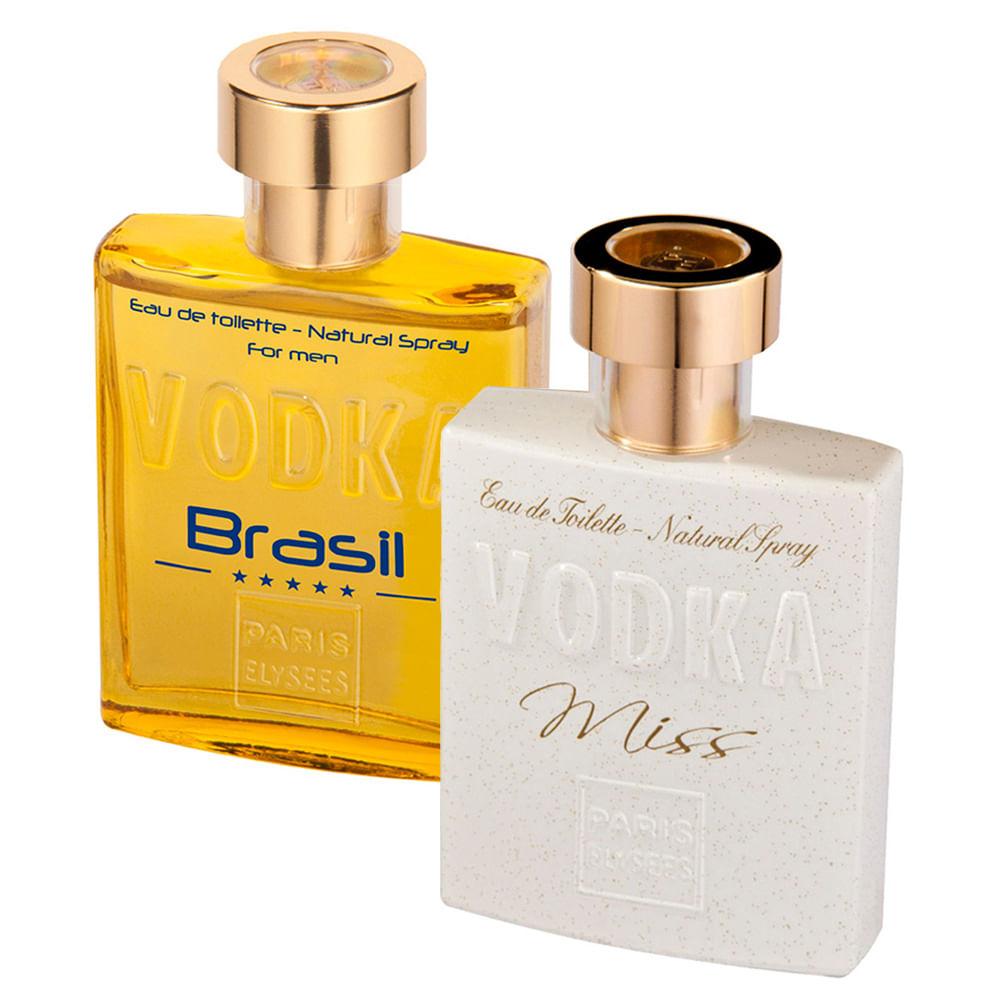 Kit Paris Elysees Vodka Brasil Yellow + Miss Vodka - Época Cosméticos 38d1f056829