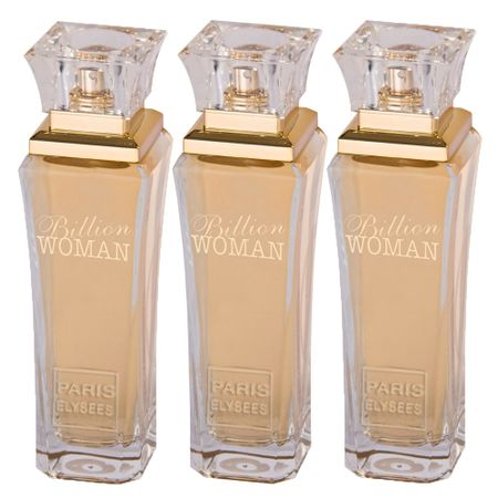 Paris Elysees Billion Woman Leve 3 Pague 2 - Eau de Toilette + Eau de Toilette...