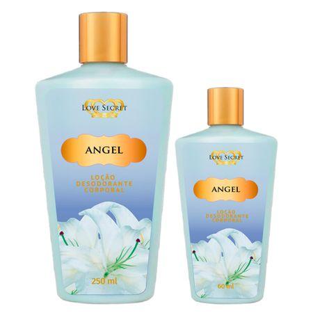 Love Secret Angel Kit - Loção Desodorante + Loção Desodorante - nenhuma