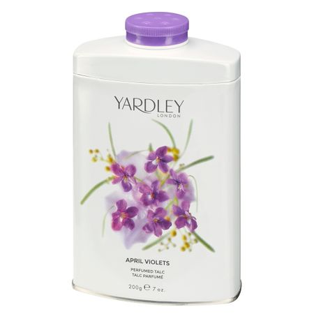 Talco Yardley - April Violet Perfumed - 200g