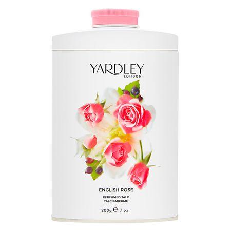 Talco Yardley - English Rose Perfumed - 200g
