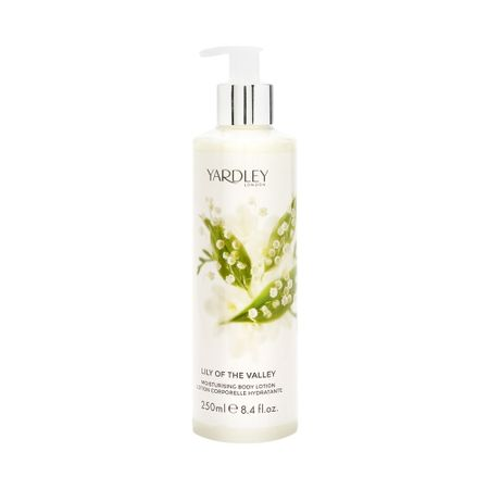 Loção Corporal Yardley  -  Lily Of The Valley Body Lotion - 250ml