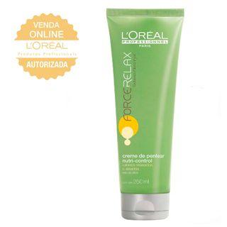 d16328e5c ... L'Oréal Professionnel Force Relax Care Nutri-Control - Creme de Pentear  - 250ml ...