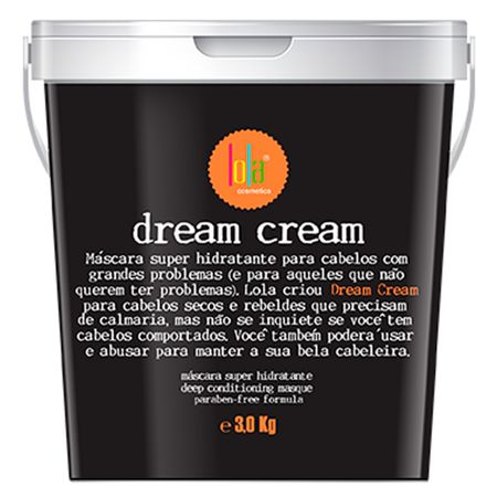Lola Cosmetics Dream Cream - Máscara Capilar - 3Kg