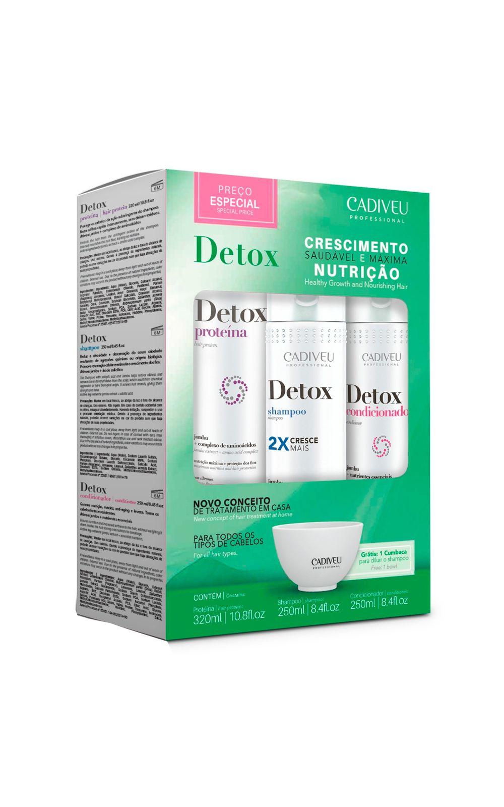 Foto 2 - Kit de Tratamento Cadiveu Detox - nenhuma