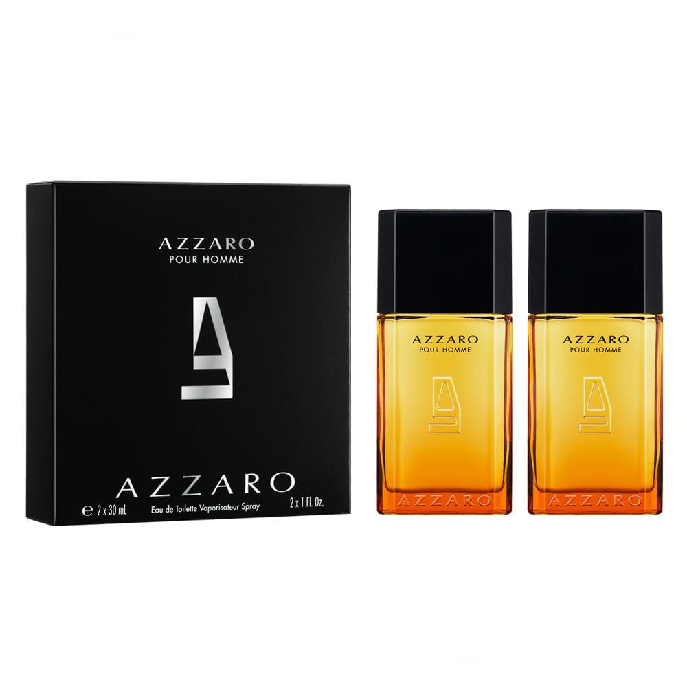 bb451e7d7 Kit Azzaro Pour Homme - EDT + EDT - Época Cosméticos