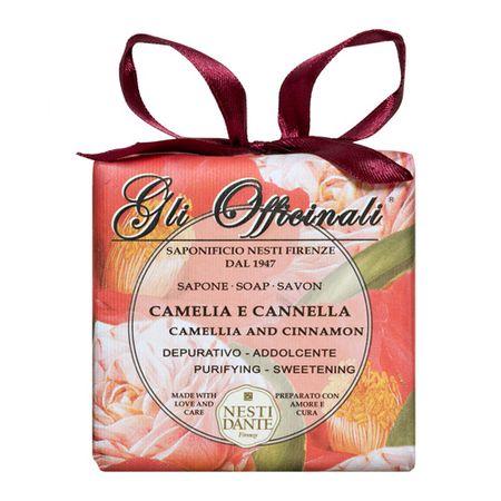 Gli Officinali Camélia com Canela Nesti Dante - Sabonete Perfumado em Barra -...