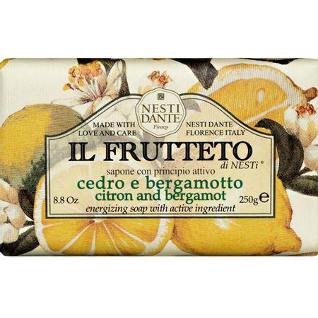 Il Frutteto Cidra e Bergamota Nesti Dante - Sabonete Frutal em Barra - 250g