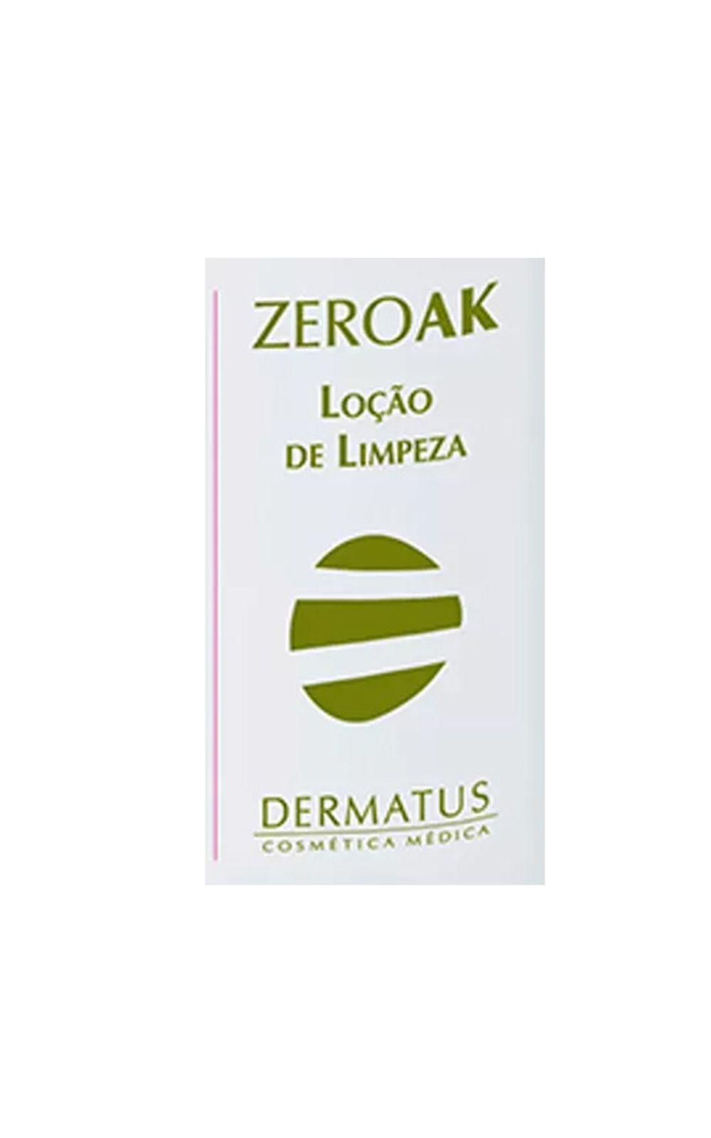 Foto 2 - ZeroAK Loção de Limpeza Dermatus - Tratamento Desobstrutor de Poros - 120ml