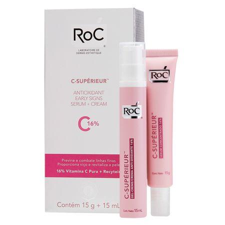 Gel-Creme Antioxidante Concentrado Roc C-Supérieur - nenhuma