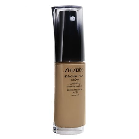 Base Liquida Shiseido - Synchro Skin Glow Luminizing Fluid Foundation SPF 20 -...