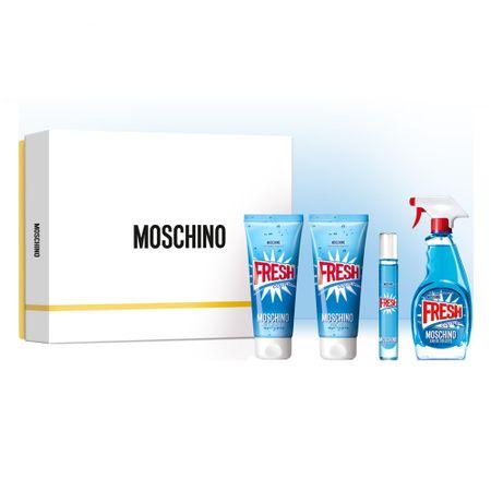 Moschino Fresh Couture Kit - Eau de Toilette + Gel de Banho + Loção Corporal +...