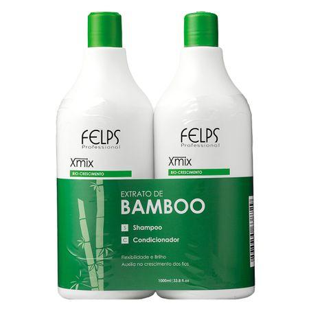 Felps Extrato de Bamboo Kit - Shampoo + Condicionador - Kit