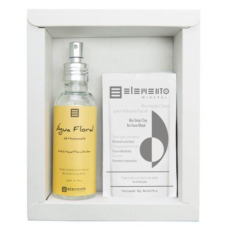 Elemento Mineral Hamamelis Kit - Argilas + Spray Hidratante Facial - Kit
