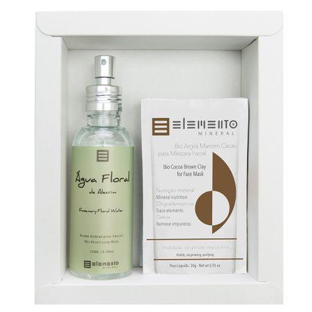 Elemento Mineral Alecrim Kit - Argilas + Spray Hidratante Facial - Kit