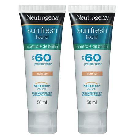 Neutrogena Sun Fresh + Ganhe 70% na Segunda Un Kit - Protetor Solar + Protetor...