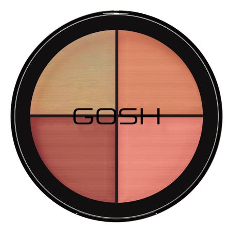 Paleta de Blush Gosh Copenhagen - Strobe N Glow - Kit