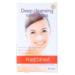 Adesivos para a Limpeza Profunda do Nariz Purederm Deep Pore Cleansing Nose  Strips - 6 Un 34b61ed68aa