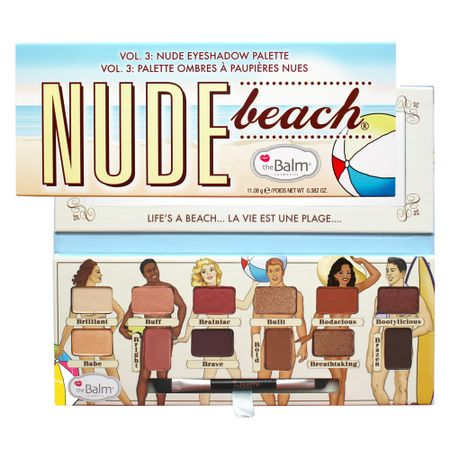Paleta de Sombras The Balm - Nude Beach - Estojo
