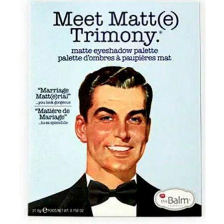 Foto 3 - Meet Matt(e) Trimony The Balm - Paleta de Sombras - 1 Un