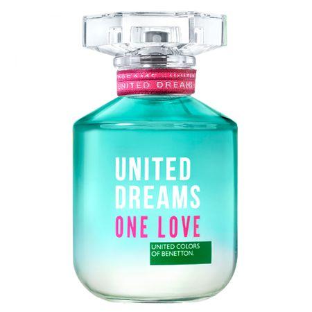 United Dreams One Love Her Benetton Perfume Feminino - Eau de Toilette - 80ml