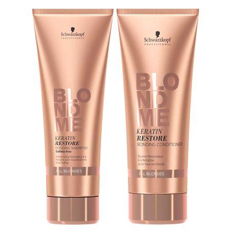 Schwarzkopf  Schwarzkopf Professional BC Blond Me All Blondes Kit - Shampoo + ...