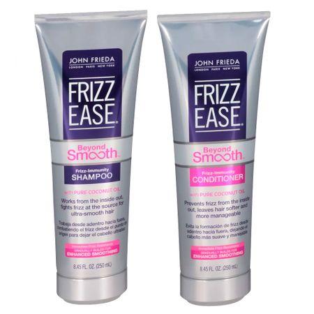 John Frieda Frizz-Ease Beyond Smooth Immunity Kit - Condicionador + Shampoo -...
