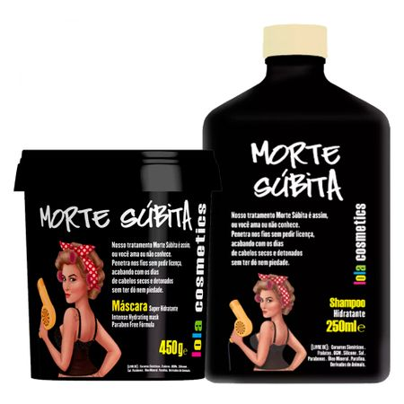 Lola Cosmetics Morte Súbita Kit - Shampoo + Máscara - Kit