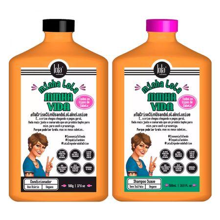 Lola Cosmetics Minha Lola Minha Vida  Kit - Shampoo + Condicionador - Kit
