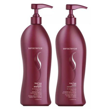 Senscience True Hue Violet Kit - Shampoo + Condicionador - Kit