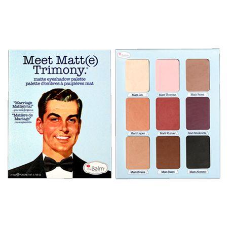 Foto 5 - Meet Matt(e) Trimony The Balm - Paleta de Sombras - 1 Un