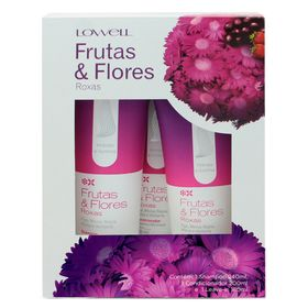 Lowell-frutas-flores-roxas-kit-shampoo-condicionador-leave-in