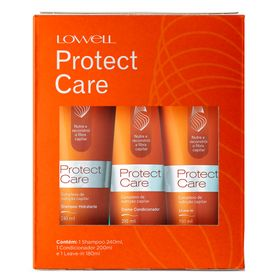 Lowell-protect-care-kit-shampoo-condicionador-leave-in