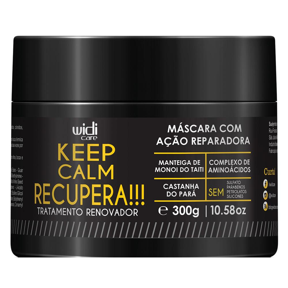 Widi Care Keep Calm Recupera !!! – Máscara de Tratamento