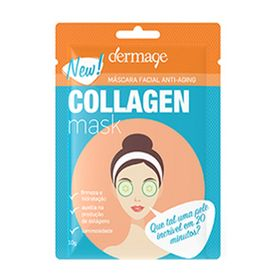 mascara-facial-anti-idade-dermage-collagen-mask-10g