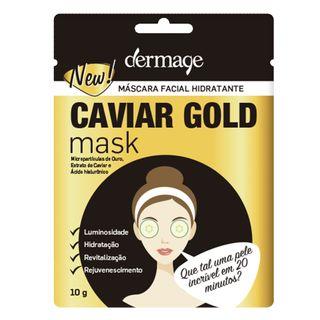 mascara-facial-hidratante-dermage-caviar-gold-mask