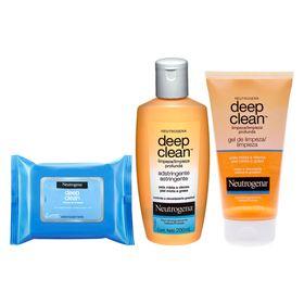 neutrogena-deep-clean-rotina-de-limpeza-para-pele-mista-kit-lenco-de-limpeza-limpador-facial-gel-de-limpeza
