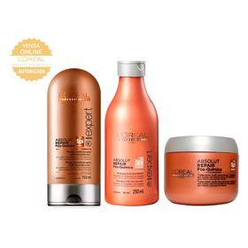 L-Oreal-Professionnel-Absolut-Repair-Pos-Quimica-Kit---Shampoo---Condicionador---Mascara