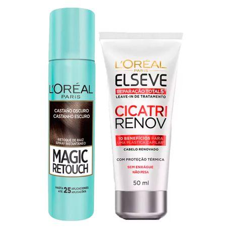L'Oréal Paris Magic Retouch + Cicatri Renov Kit - Corretivo Instantâneo +...