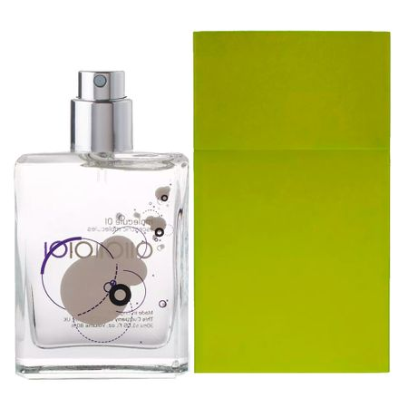 Escentric Molecules Molecule 01 + Caixa de Alumínio Verde Musgo Kit - Perfume +...